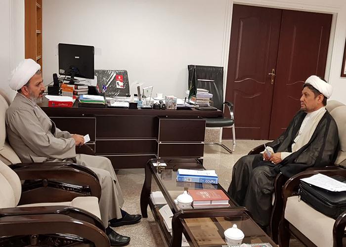 دیدار رئیس مرکز علمی پژوهشی دانشگاهیان هرات با معاونت فرهنگی مجمع جهانی تقریب