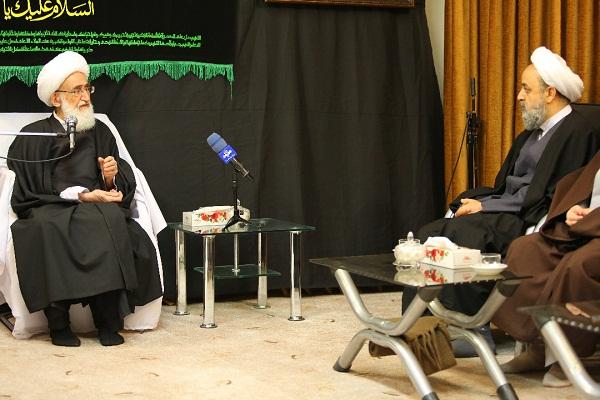 دبیرکل مجمع جهانی تقریب مذاهب اسلامی با آیت الله نوری همدانی دیدار کرد